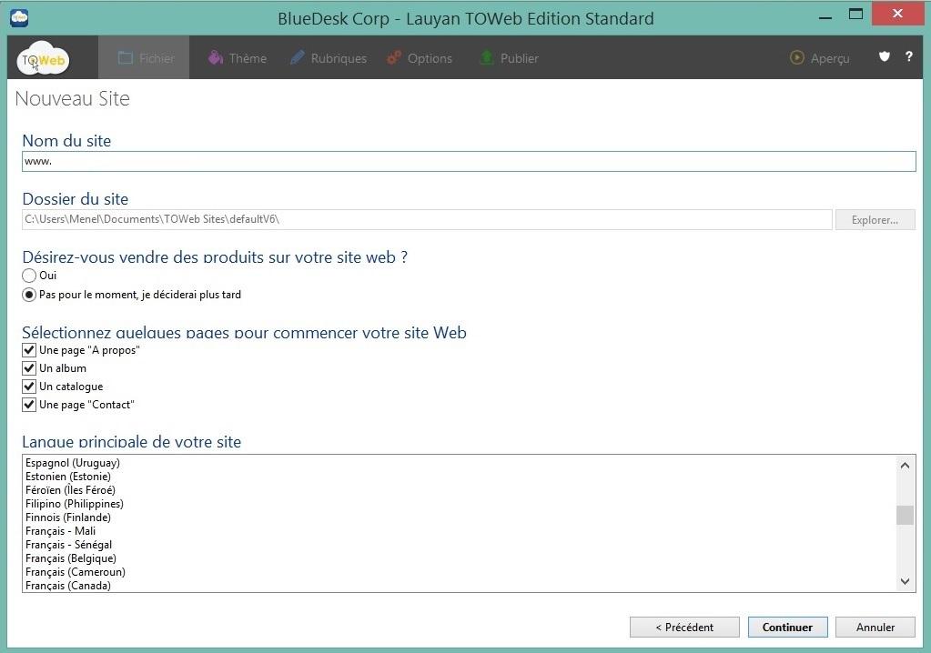 Accéder en FTP via Webacappella-edition standard