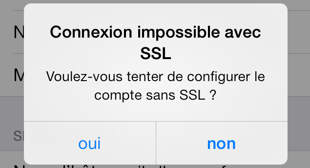 Configuration compte SSL-Email-Pro-Iphone