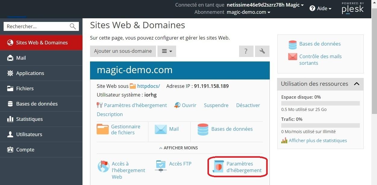interface site web et domaines - 18