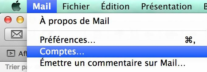 Mac OS - Mail