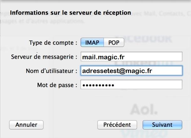 Protocole IMAP