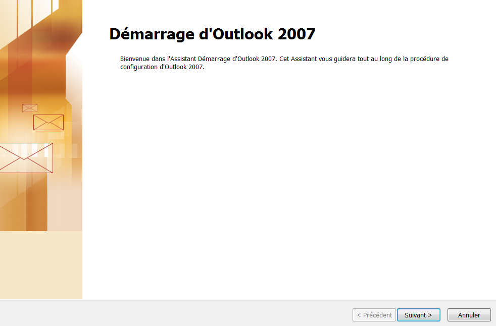 Adresse Email Pro sur Outlook 2007