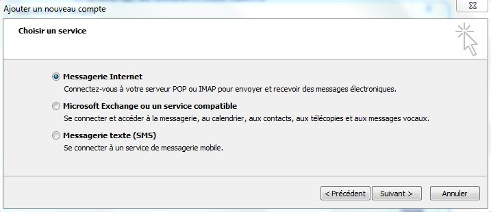 Configuration Adresse Email Pro sur Outlook 2010 – Ajouter un nouveau compte