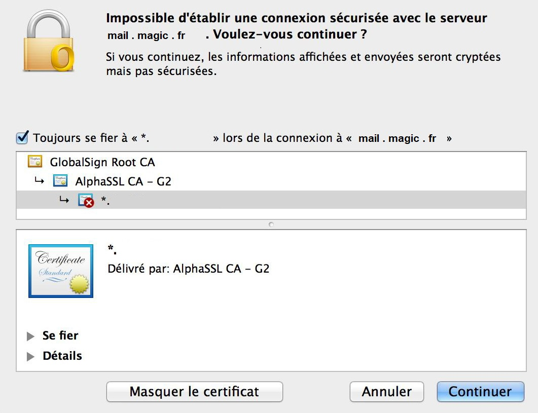 Configuration Adresse Email Pro sur Outlook – Mac OS - 8