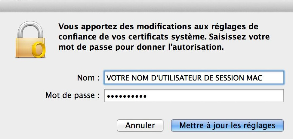 Configuration Adresse Email Pro sur Outlook – Mac OS - 9