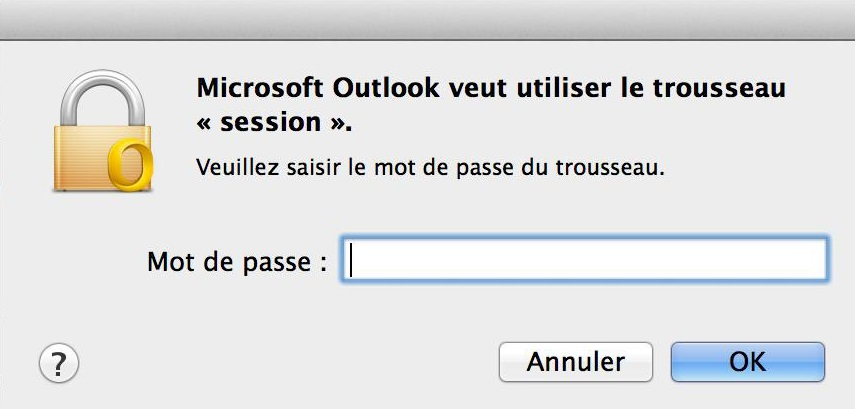 Configuration Adresse Email Pro sur Outlook – Mac OS -5