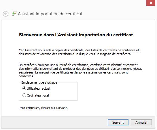 Configuration  d'un compte Microsoft Outlook - Bienvenue