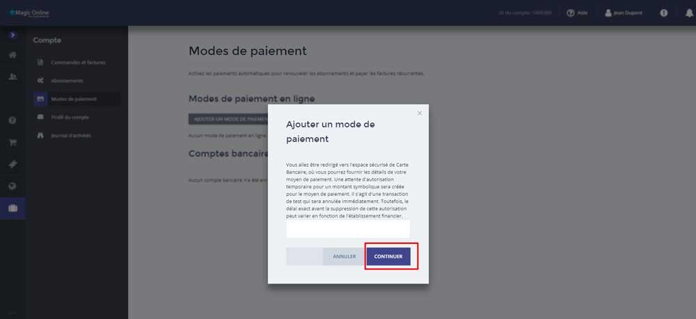 Accueil - espace client - 3