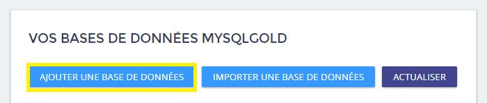 Créer une base de données MySQL -4