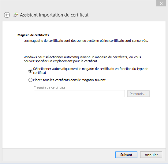 Configuration Email Exchange 2013 sur Outlook 2013 - 1